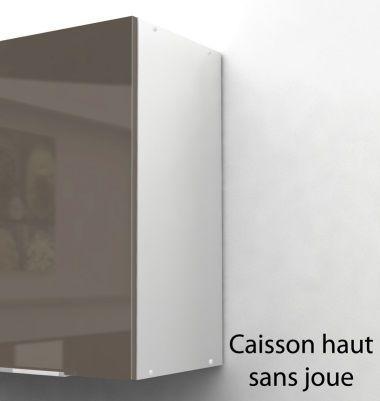 pop caisson haut de cuisine l 40 cm taupe laqu achat. Black Bedroom Furniture Sets. Home Design Ideas