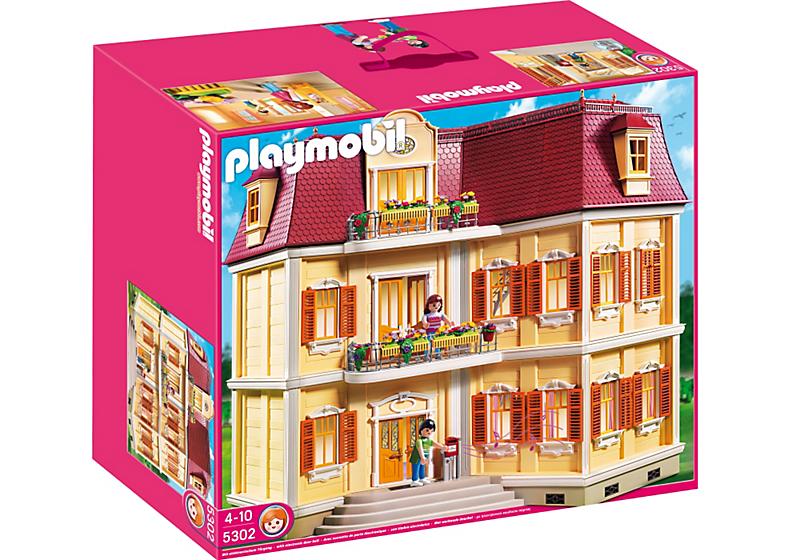 Playmobil 5302 maison de ville achat vente univers miniature cdiscount - Gran casa de munecas playmobil ...