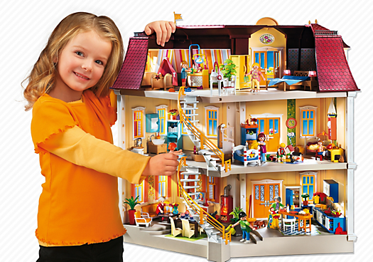 playmobil 5302 maison de ville achat vente univers miniature cdiscount. Black Bedroom Furniture Sets. Home Design Ideas
