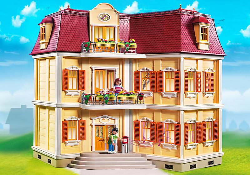 Playmobil 5302 maison de ville achat vente univers for Vert urbain maison de ville