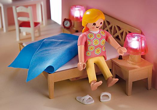 Playmobil 5331 chambre des parents avec coiffeuse achat for Playmobil chambre parents