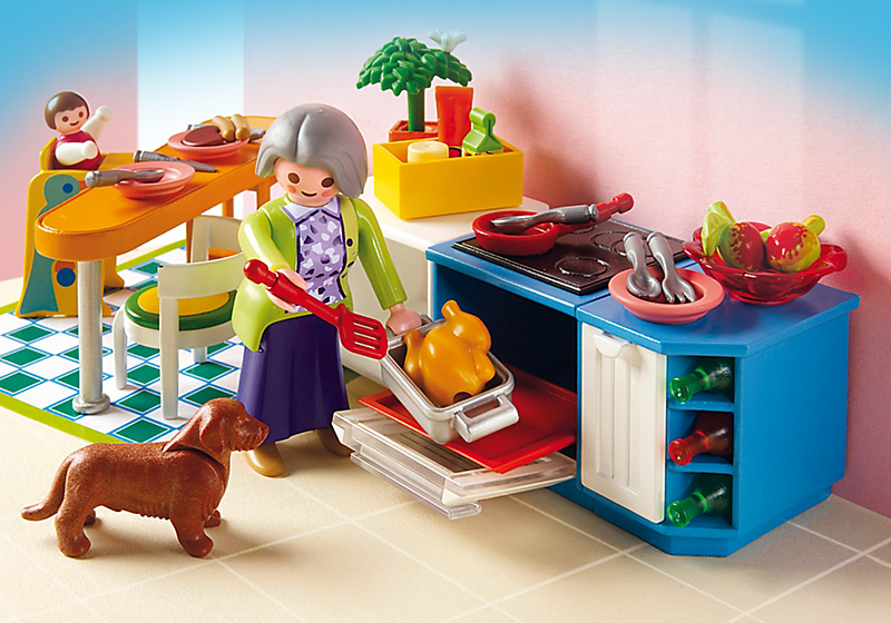 Playmobil 5329 cuisine achat vente univers miniature for Cuisine 5582