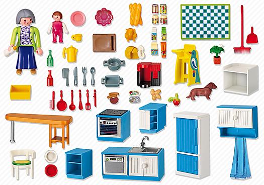 Playmobil 5329 cuisine achat vente univers miniature for Cuisine 5582 playmobil