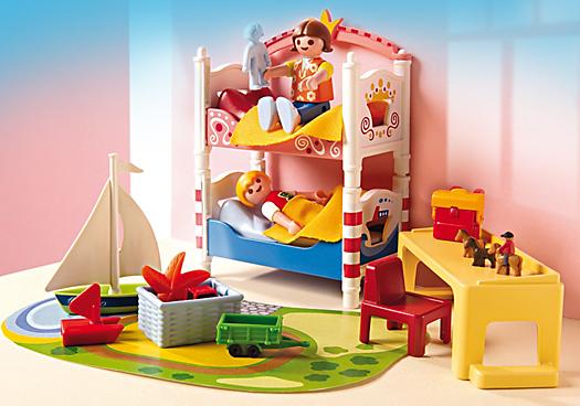PLAYMOBIL 5333 Chambre des Enfants avec Lits - Achat ...