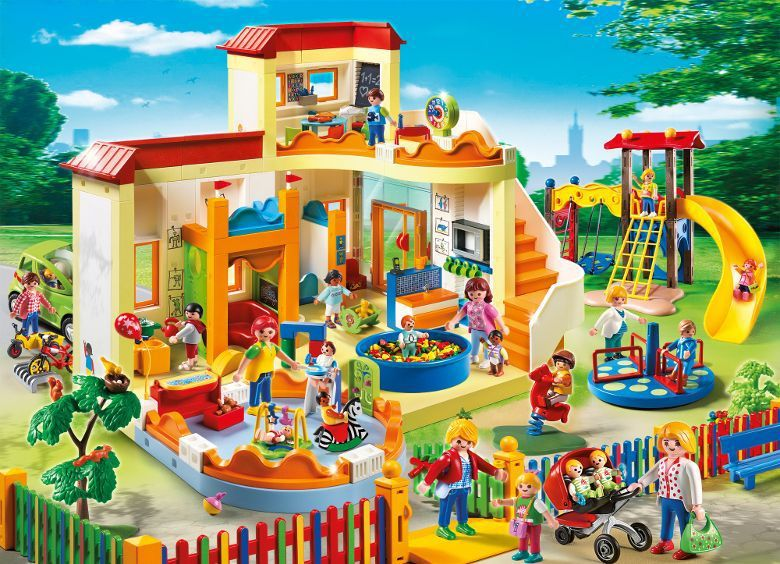 PLAYMOBIL 5570 - City Life - Espace Crèche avec Bébés - Achat ...