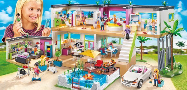 la maison moderne playmobil 5574 - Playmobil Maison Moderne 4279