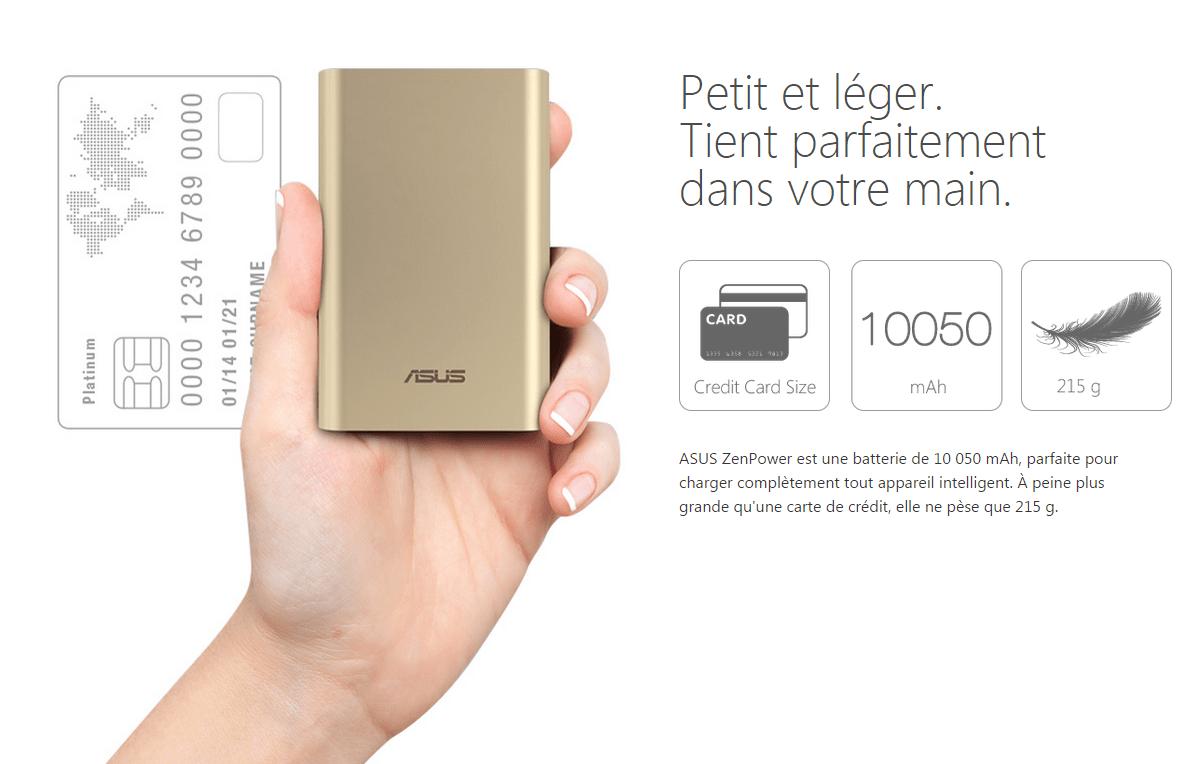 asus batterie externe zen power compatible zen achat batterie t l phone pas cher avis et. Black Bedroom Furniture Sets. Home Design Ideas