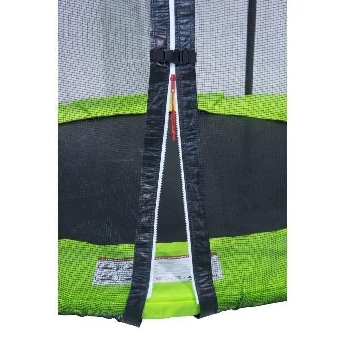 kangui trampoline 305cm vert avec filet achat vente trampoline cdiscount. Black Bedroom Furniture Sets. Home Design Ideas