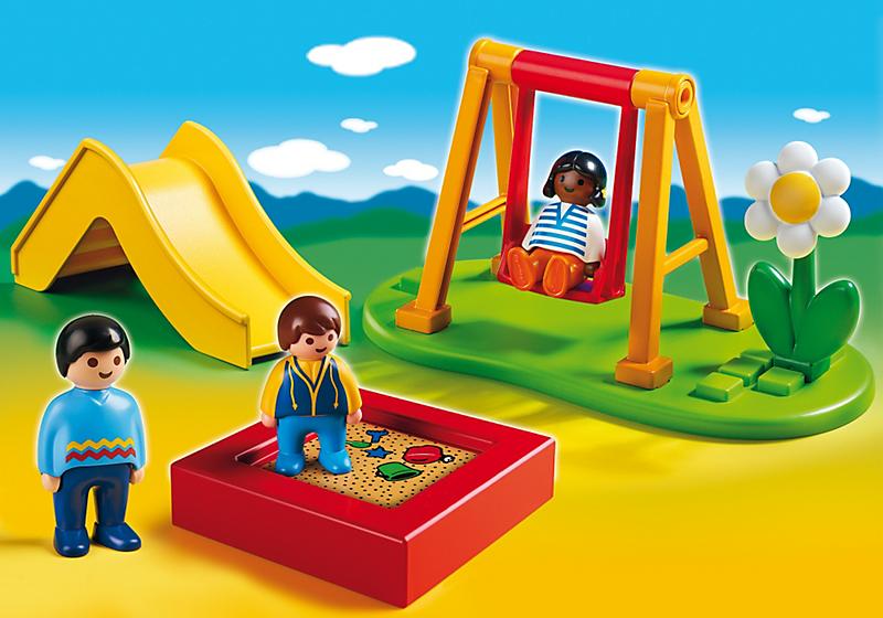 playmobil 1 2 3 6785 enfants et parc de jeux achat. Black Bedroom Furniture Sets. Home Design Ideas