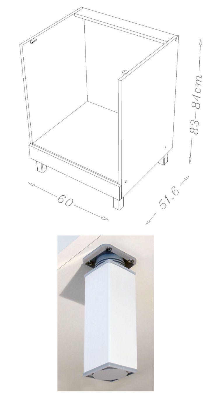 Pop meuble bas four l 60 cm gris mat achat vente for Avis client meubles concept