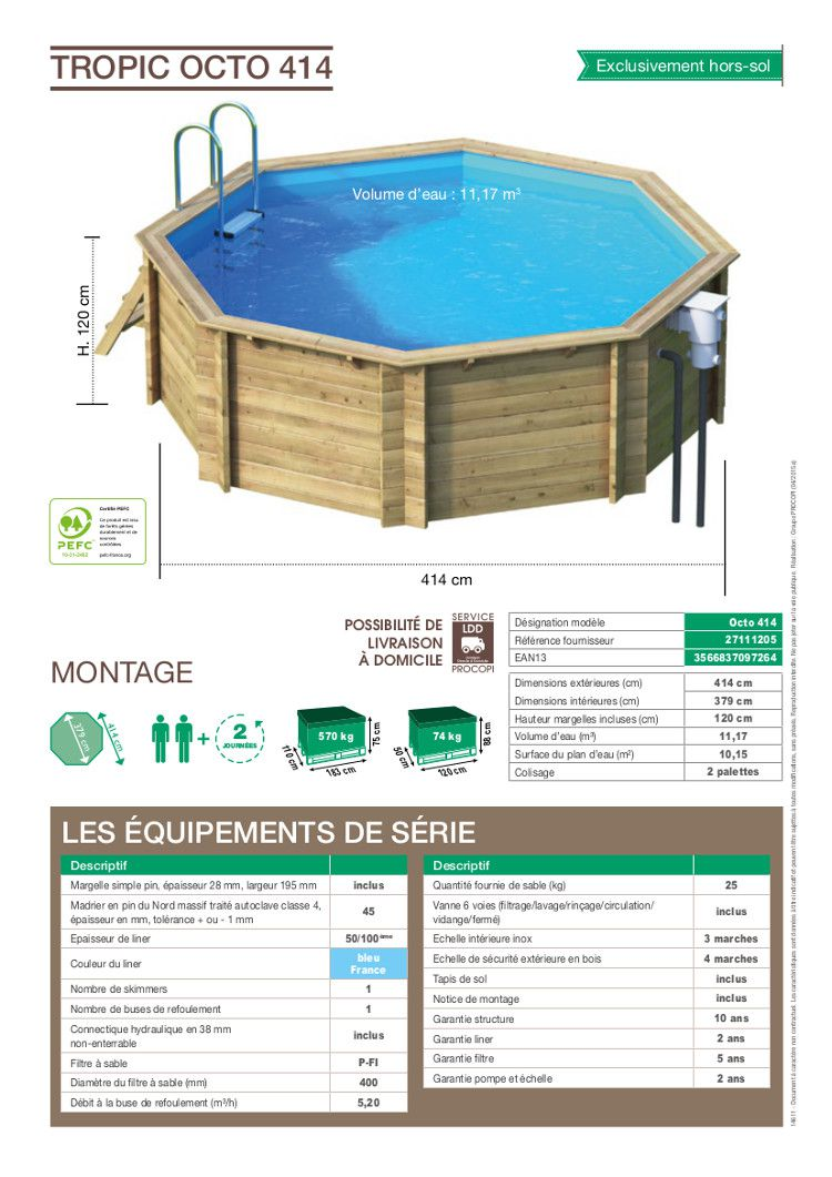 Quelques liens utiles for Procopi piscine