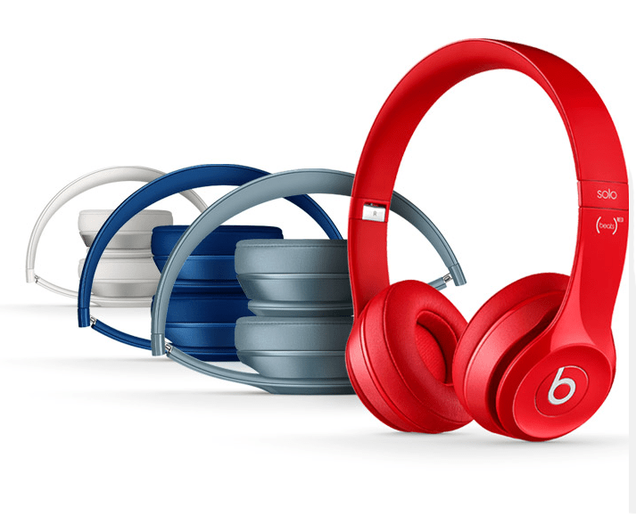 Beats Solo2 Casque Audio Filaire Authentique Compatible