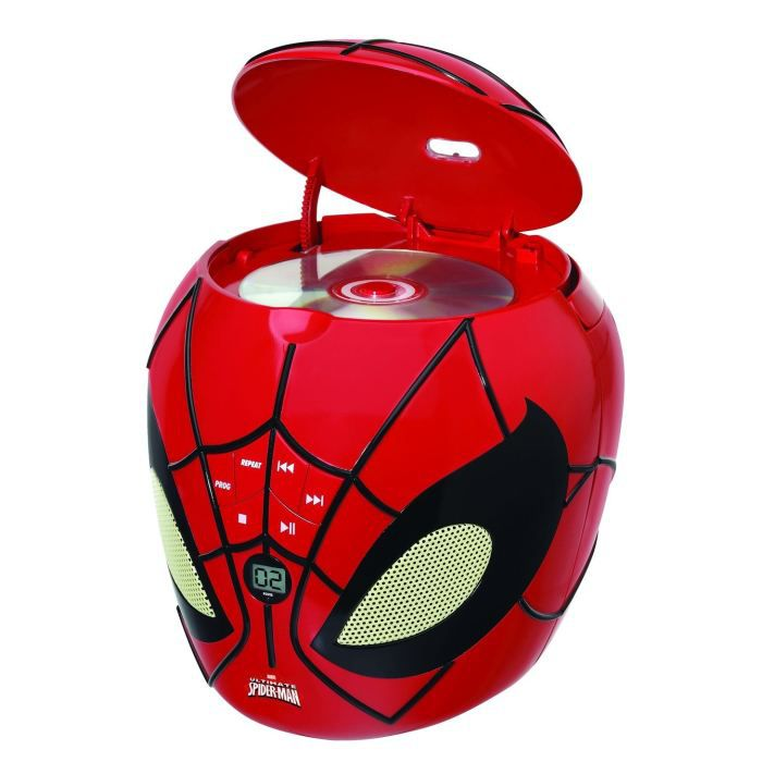 spiderman lecteur cd lexibook 3380743025858 achat. Black Bedroom Furniture Sets. Home Design Ideas