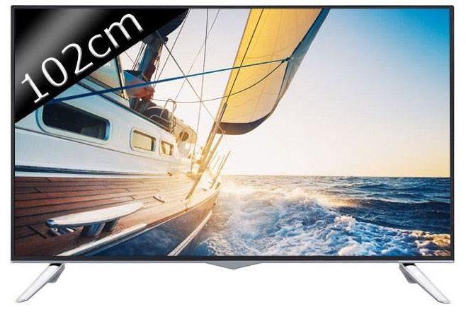 continental edison 40300 smart tv uhd 4k 3d 102cm t l viseur led avis et prix pas cher. Black Bedroom Furniture Sets. Home Design Ideas