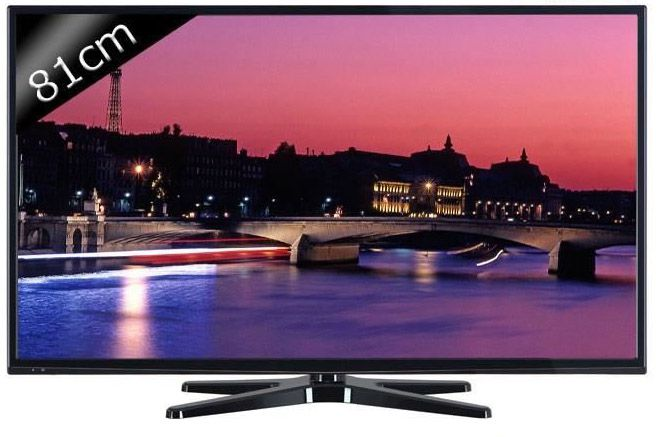 Continental edison 32282 smart tv led hdtv 3d 81cm 31 5 t l viseur - Cdiscount television led ...