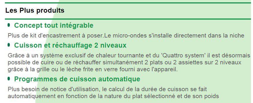 sauter sme975bb four micro ondes combin achat vente micro ondes cdiscount. Black Bedroom Furniture Sets. Home Design Ideas
