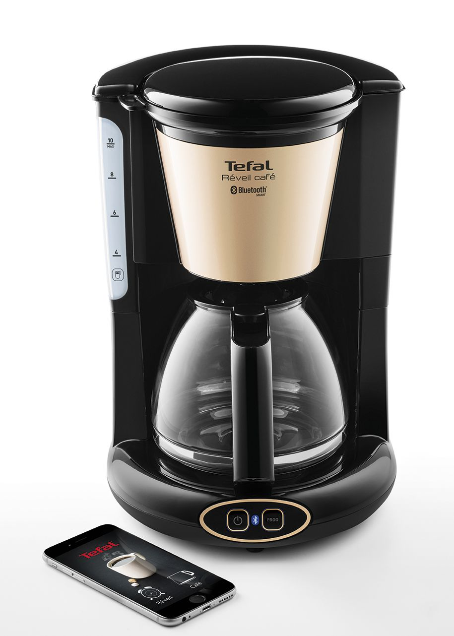 tefal cm450800 cafeti re filtre connect e noir achat vente cafeti re cdiscount. Black Bedroom Furniture Sets. Home Design Ideas