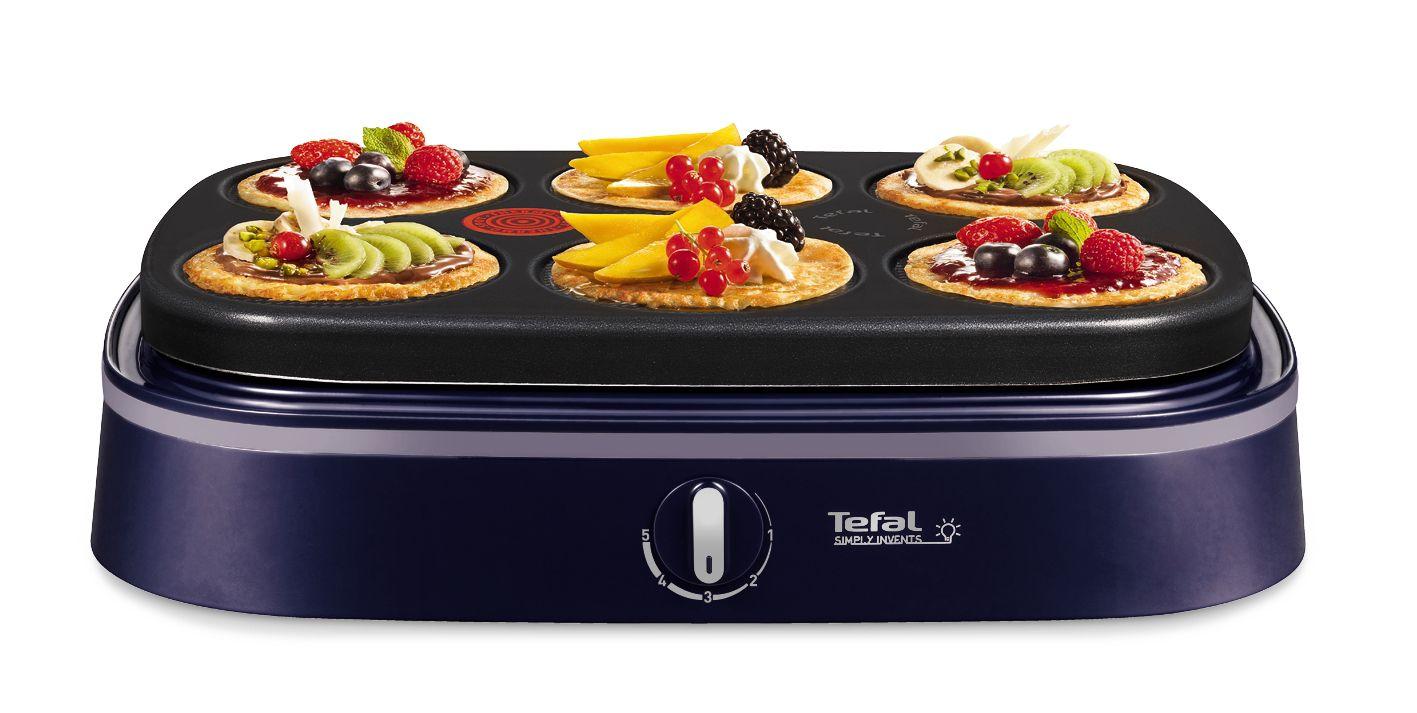 Tefal py604612 cr pi re lectrique crep 39 party dual achat for Appareil cuisson tefal