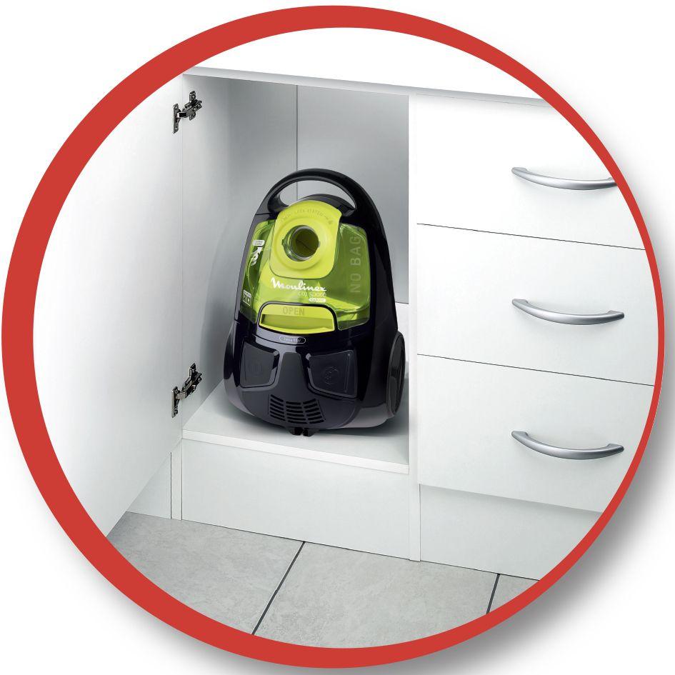 moulinex mo2512pa aspirateur tra neau sans sac city space cyclonic noir vert achat vente. Black Bedroom Furniture Sets. Home Design Ideas