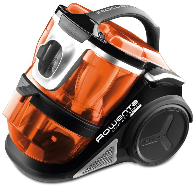 Aspirateur rowenta ro7834 compact force cyclonic noir for Aspirateur independant