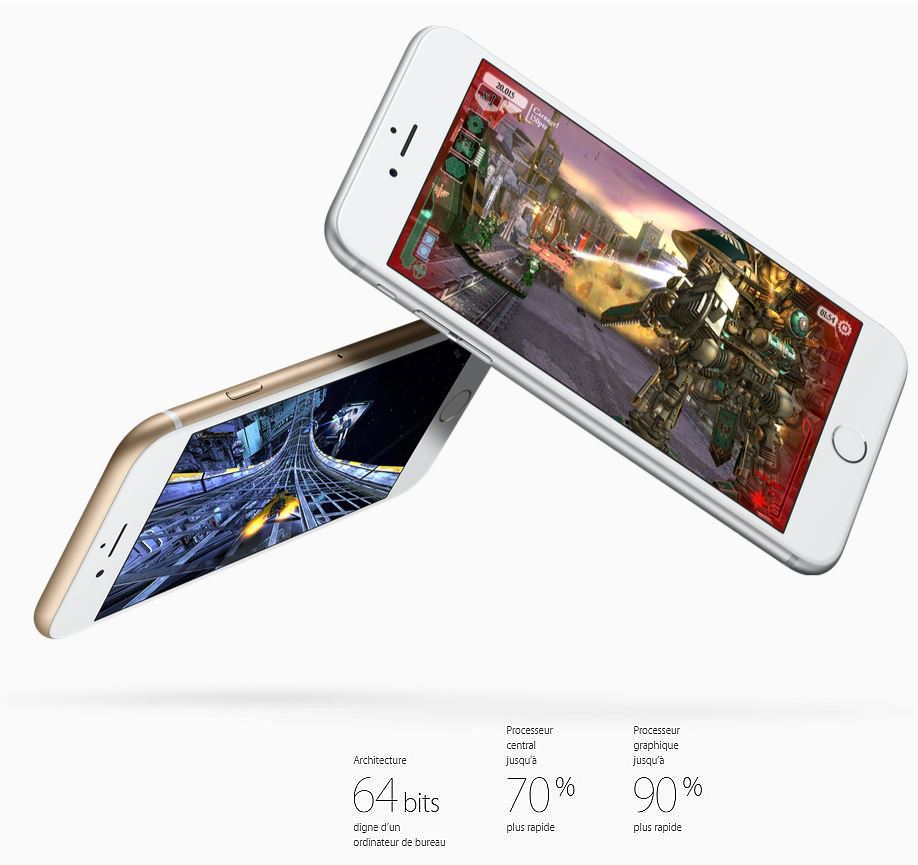 iphone 6s 16 go silver reconditionn remade in france garantie 1 an achat smartphone recond. Black Bedroom Furniture Sets. Home Design Ideas