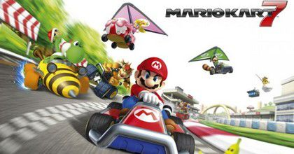 Mario kart 7 3d jeu 3ds achat vente jeu 3ds mario kart 7 3d 2ds 3ds cdiscount - Console 3ds xl blanche avec mario kart 7 ...