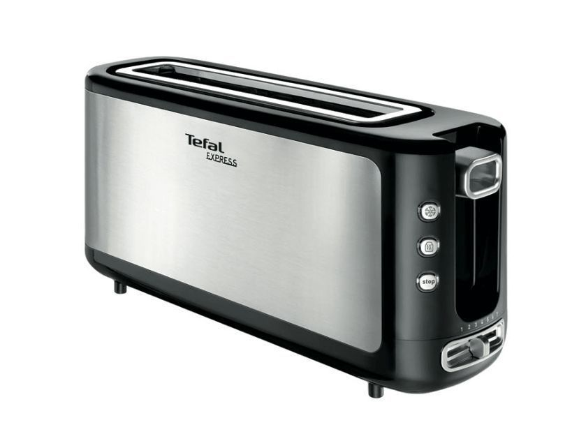 tefal tl365etr grille pain express inox achat vente grille pain toaster cdiscount. Black Bedroom Furniture Sets. Home Design Ideas