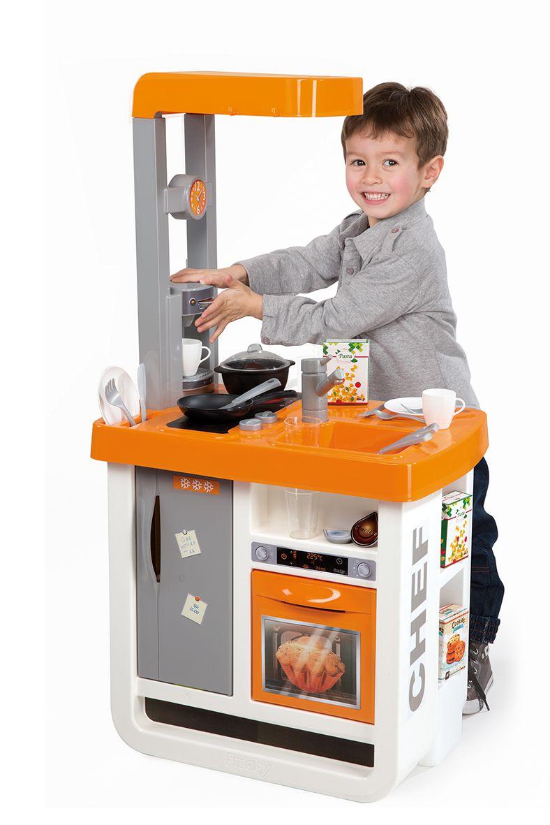 Smoby cuisine enfant bon app tit avec accessoires for Achat accessoire de cuisine