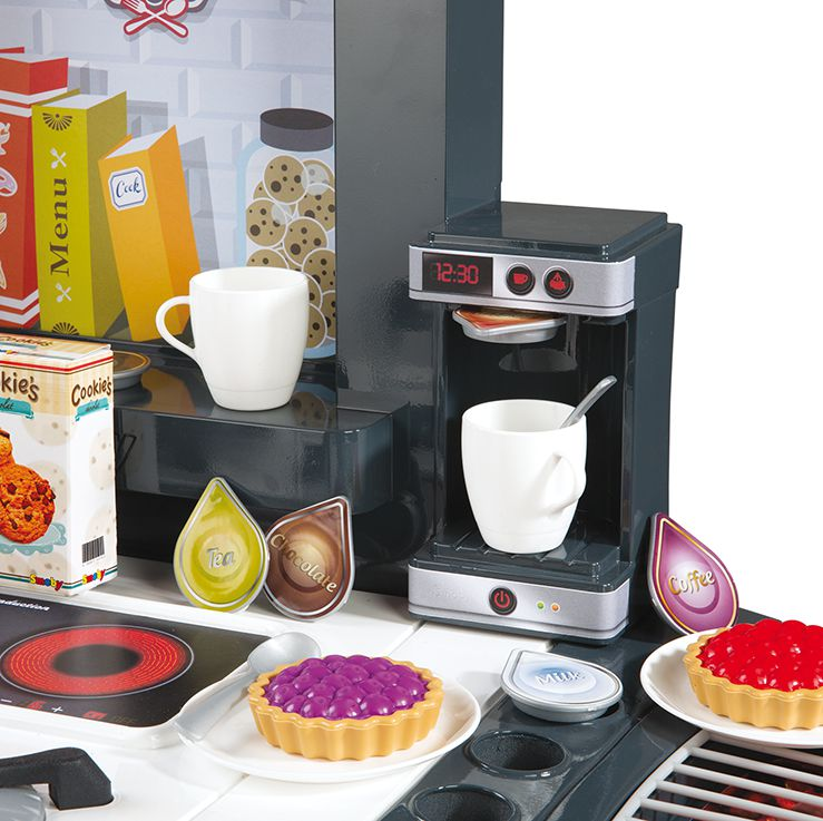 Smoby cuisine super chef mini tefal achat vente for Cuisine tefal smoby