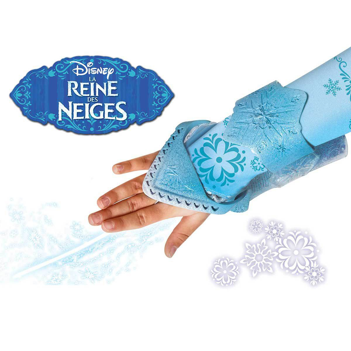 La reine des neiges gant magique elsa lance glace for Chateau de glace reine des neiges