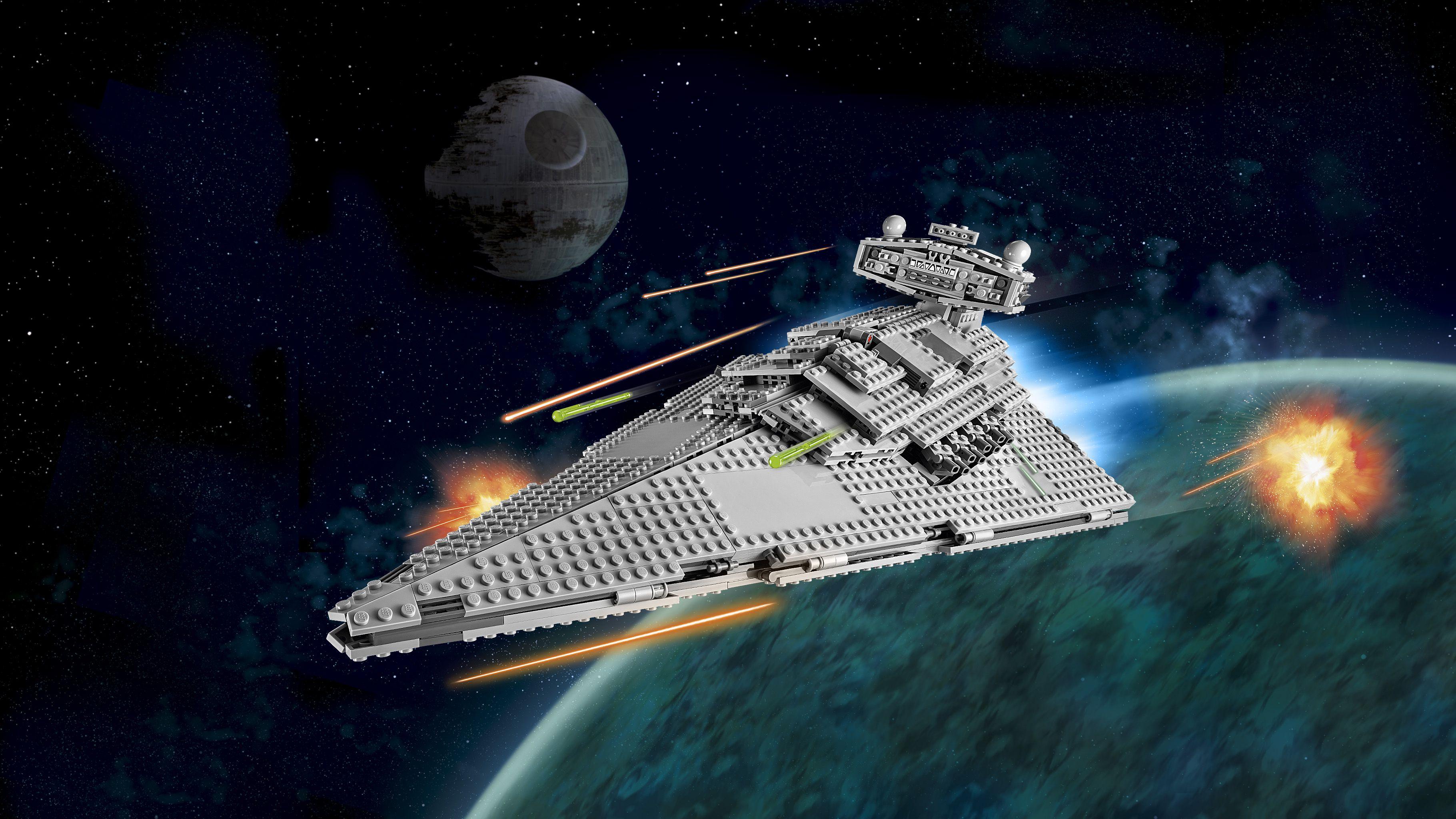 Lego star wars 75055 imperial star destroyer achat - Vaisseau de dark vador ...