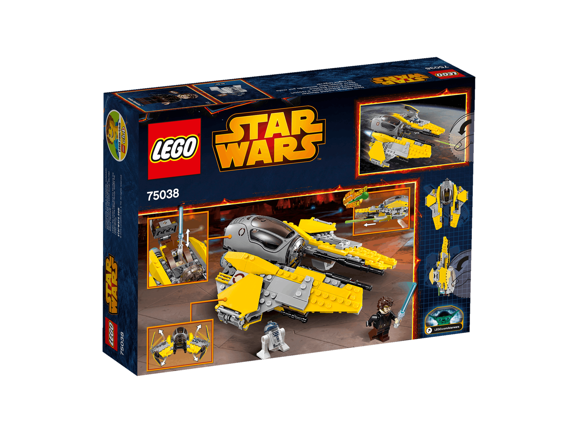 75038 Intercepteur Jedi Lego Star Wars PwkuTOiXZl