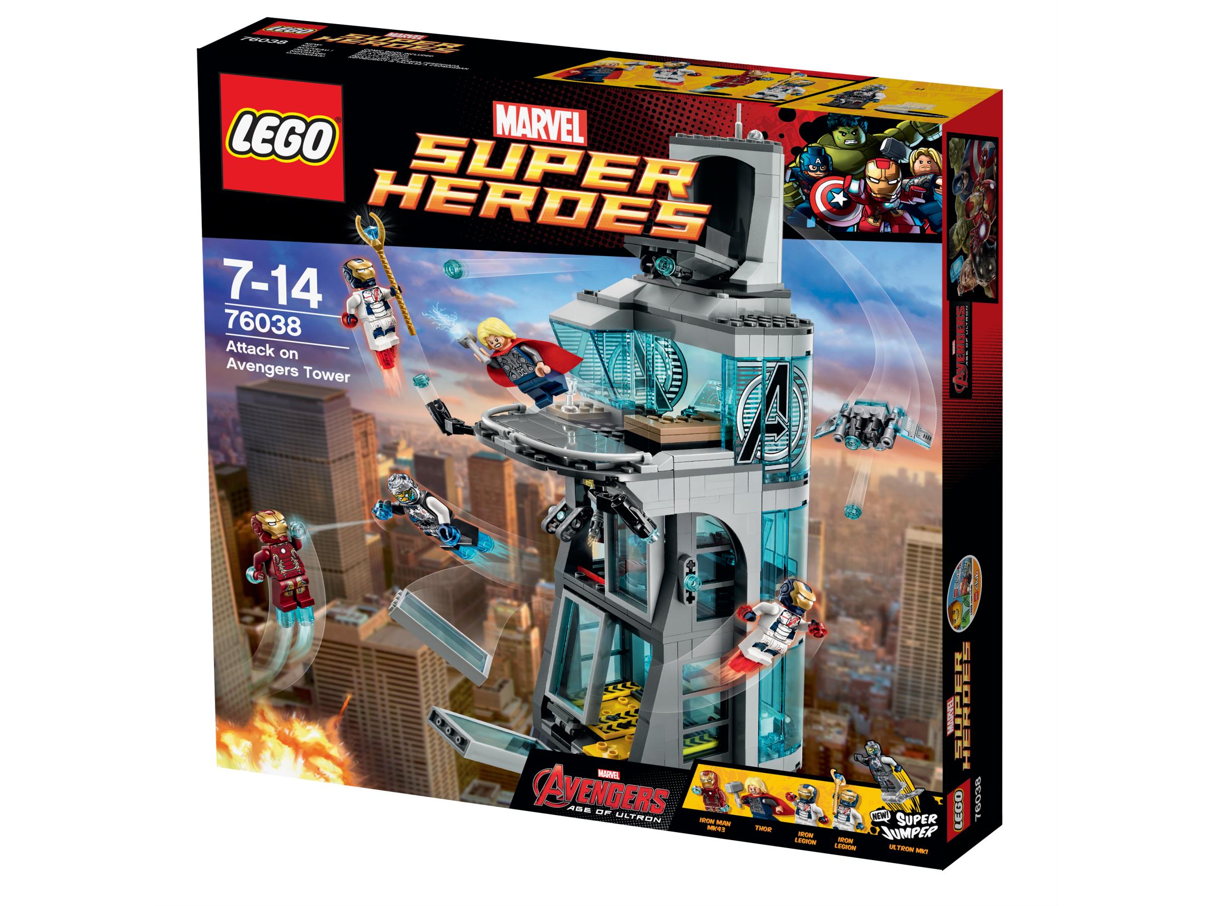 Lego® La Attaque Marvel De Achat Heroes 76038 Super Vente Tour 6gY7yvbf
