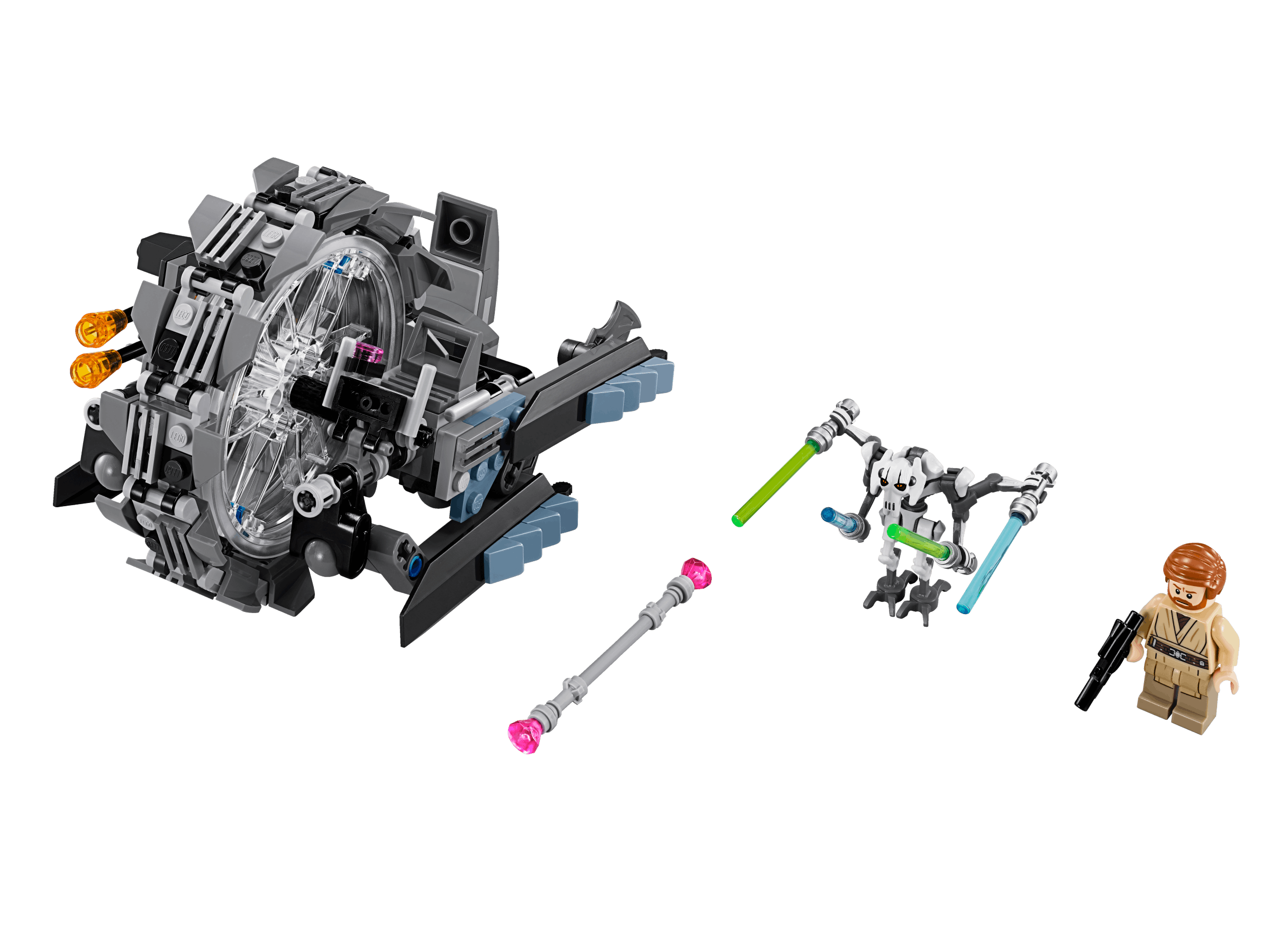 75040 Grievous' General Bike Wars Lego® Wheel Star KJc5TluF13