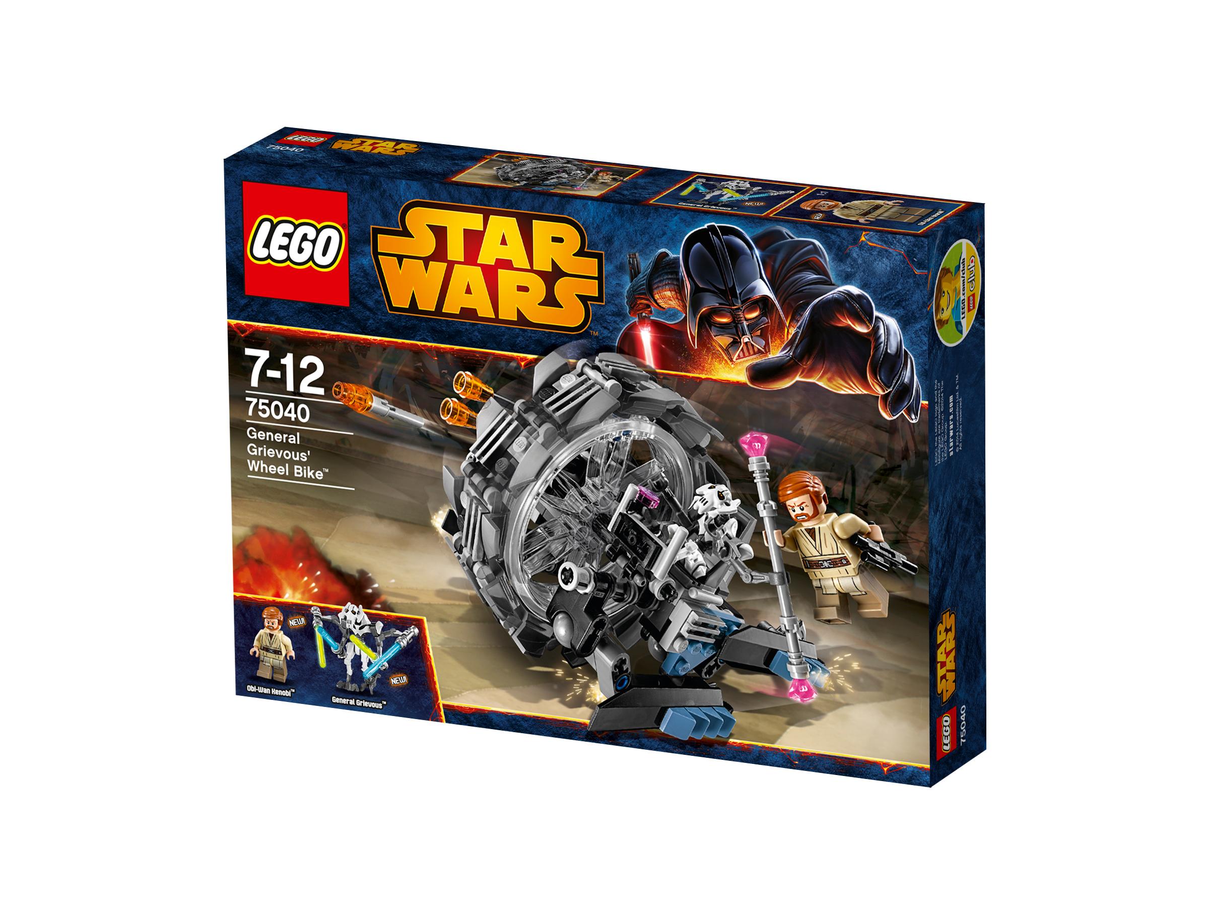 Lego star wars 75040 general grievous 39 wheel bike for Interieur vaisseau star wars