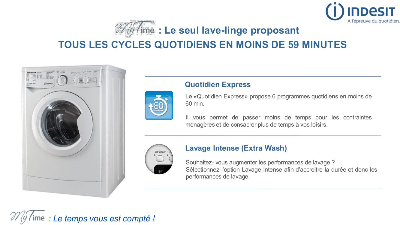 indesit ewc71252sfr lave linge frontal 7 kg 1200 tours a achat vente lave linge. Black Bedroom Furniture Sets. Home Design Ideas