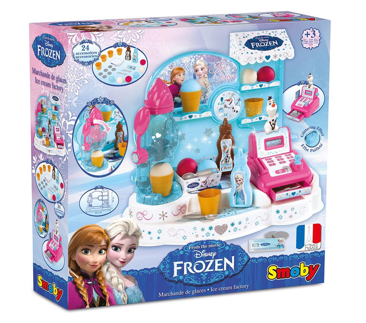 La reine des neiges smoby marchande glaces 21 acs achat vente marchande cdiscount - Jeux gratuit de reine des neige ...