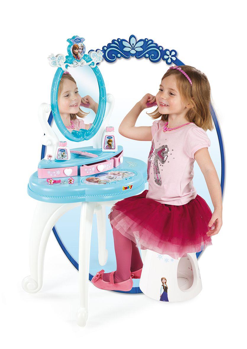 La reine des neiges coiffeuse 2 en 1 disney achat vente coiffeuse cdiscount - Jeux princesse des neiges ...