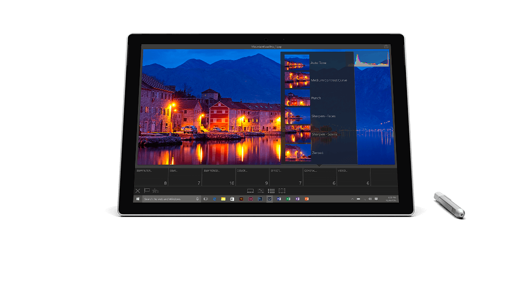 surface pro 4 i5 4gb 128gb clavier type cover office. Black Bedroom Furniture Sets. Home Design Ideas