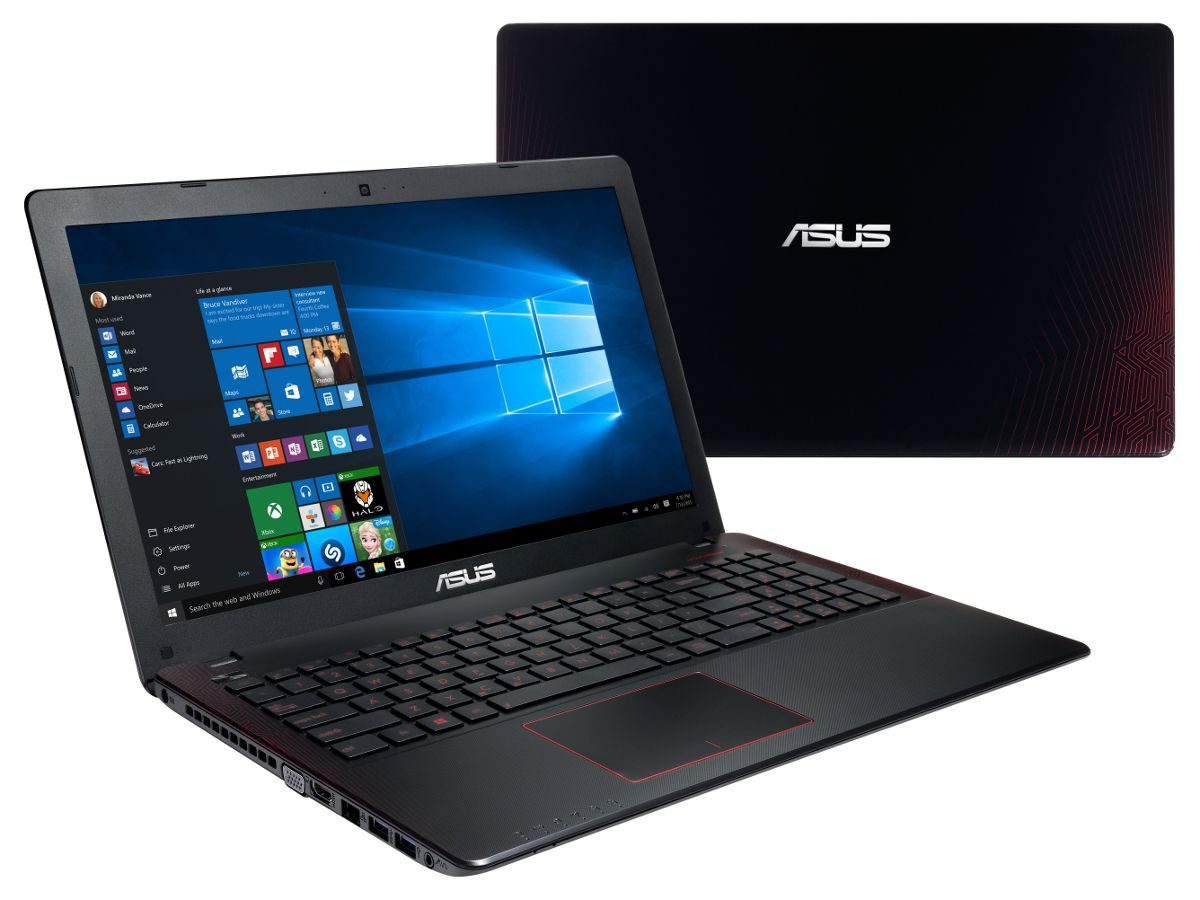 asus pc portable gamer reconditionn fx550jx dm265t cran. Black Bedroom Furniture Sets. Home Design Ideas