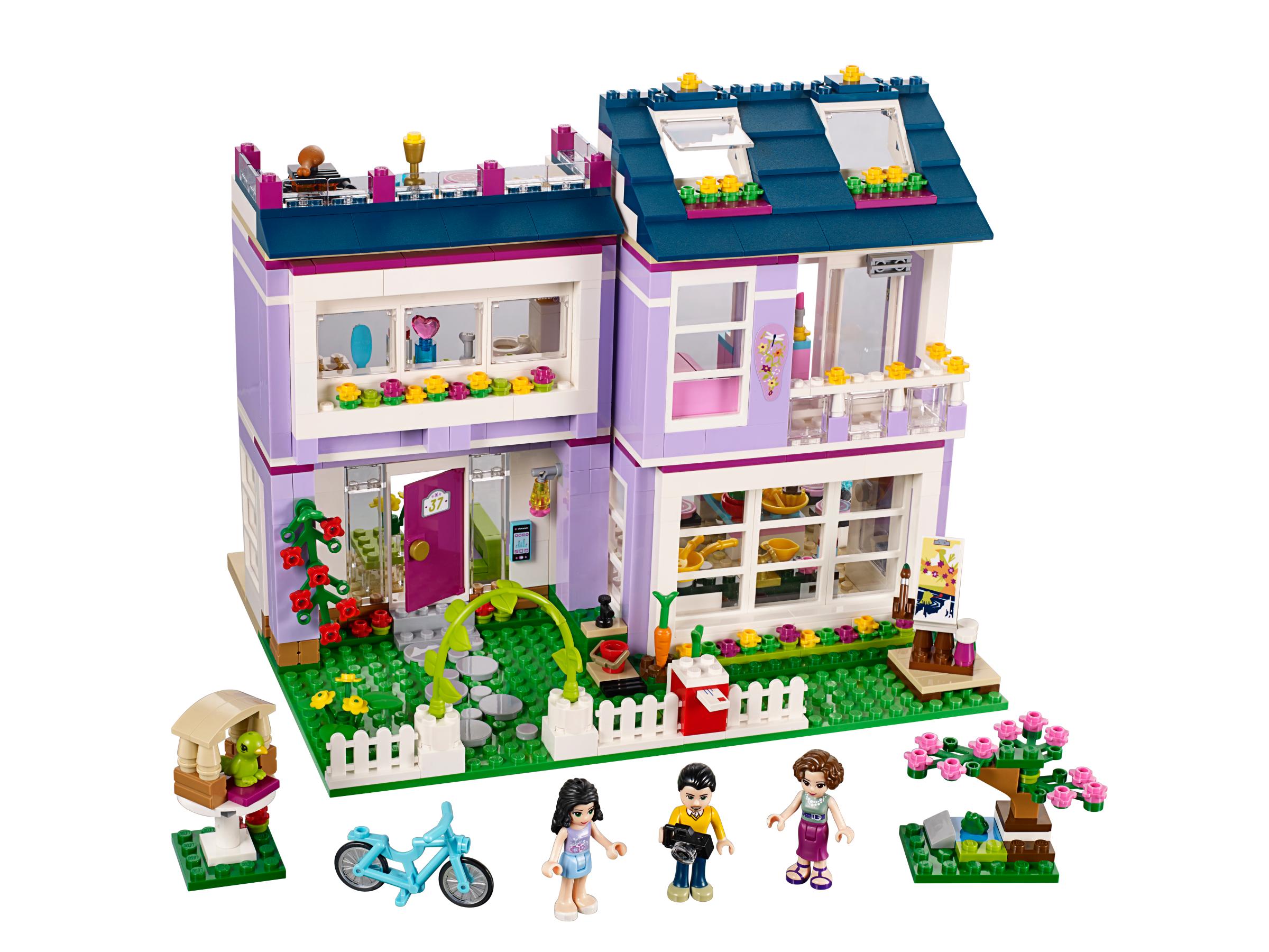 Lego friends 41095 la maison d 39 emma achat vente - Lego friends casa de livi ...