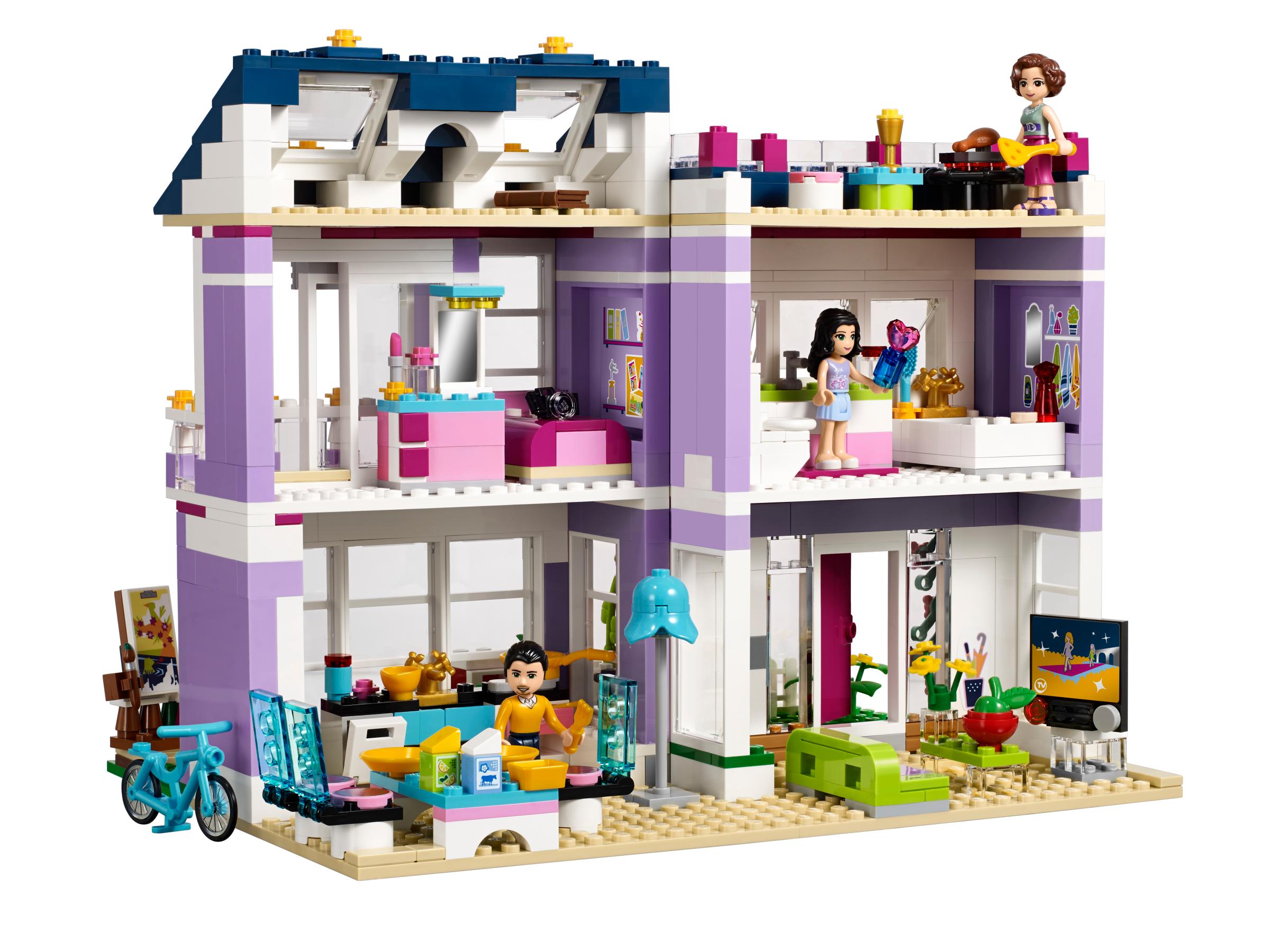 lego friends 41095 la maison d 39 emma achat vente. Black Bedroom Furniture Sets. Home Design Ideas