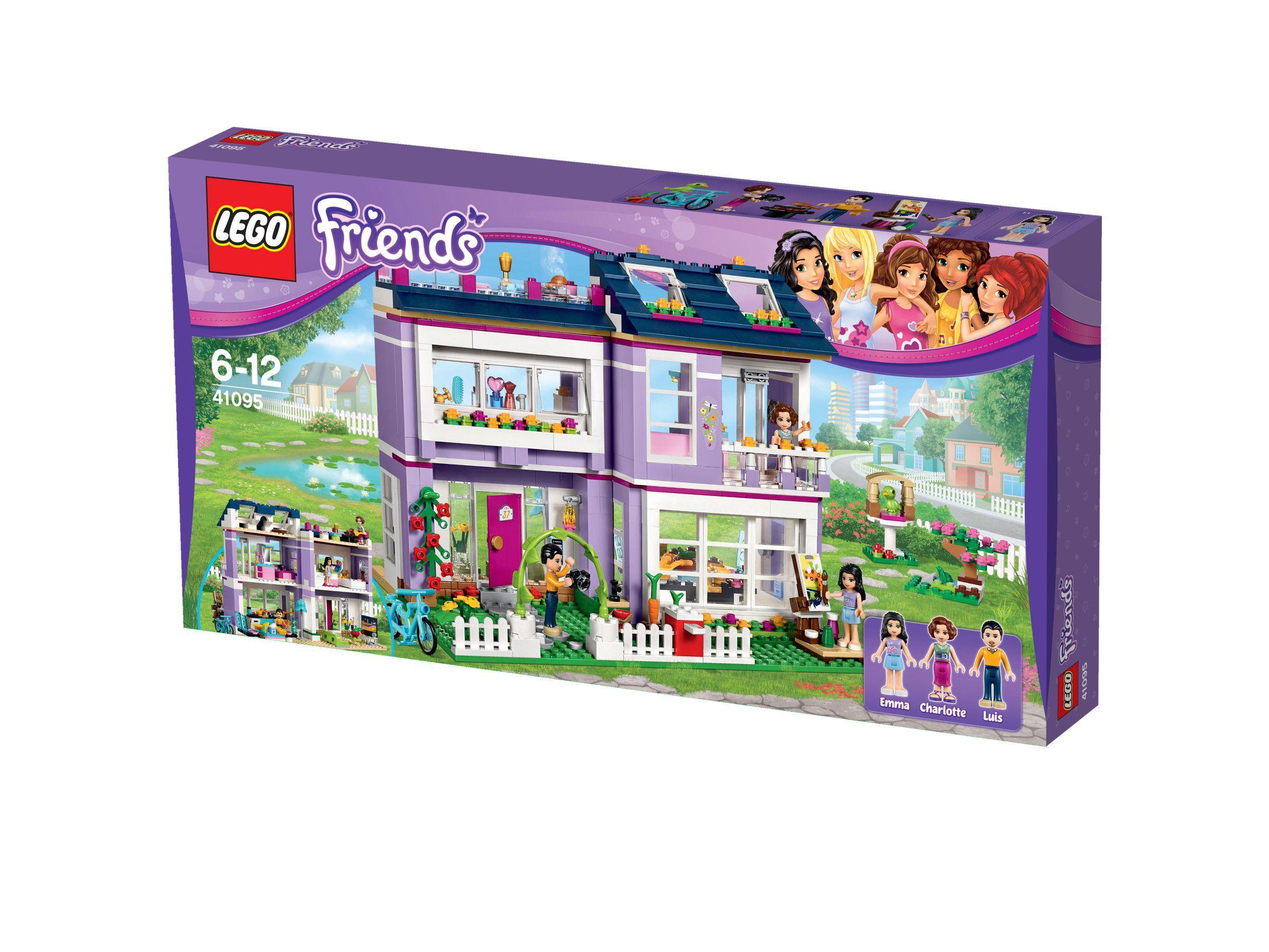 Lego friends 41095 la maison d 39 emma achat vente for La maison d harmony