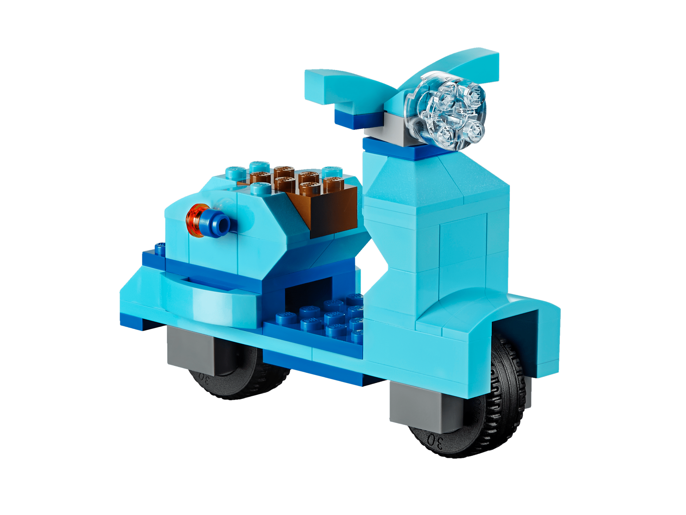 Lego classic 10698 bo te de briques de cr ation deluxe - Brique de rangement lego grand modele ...