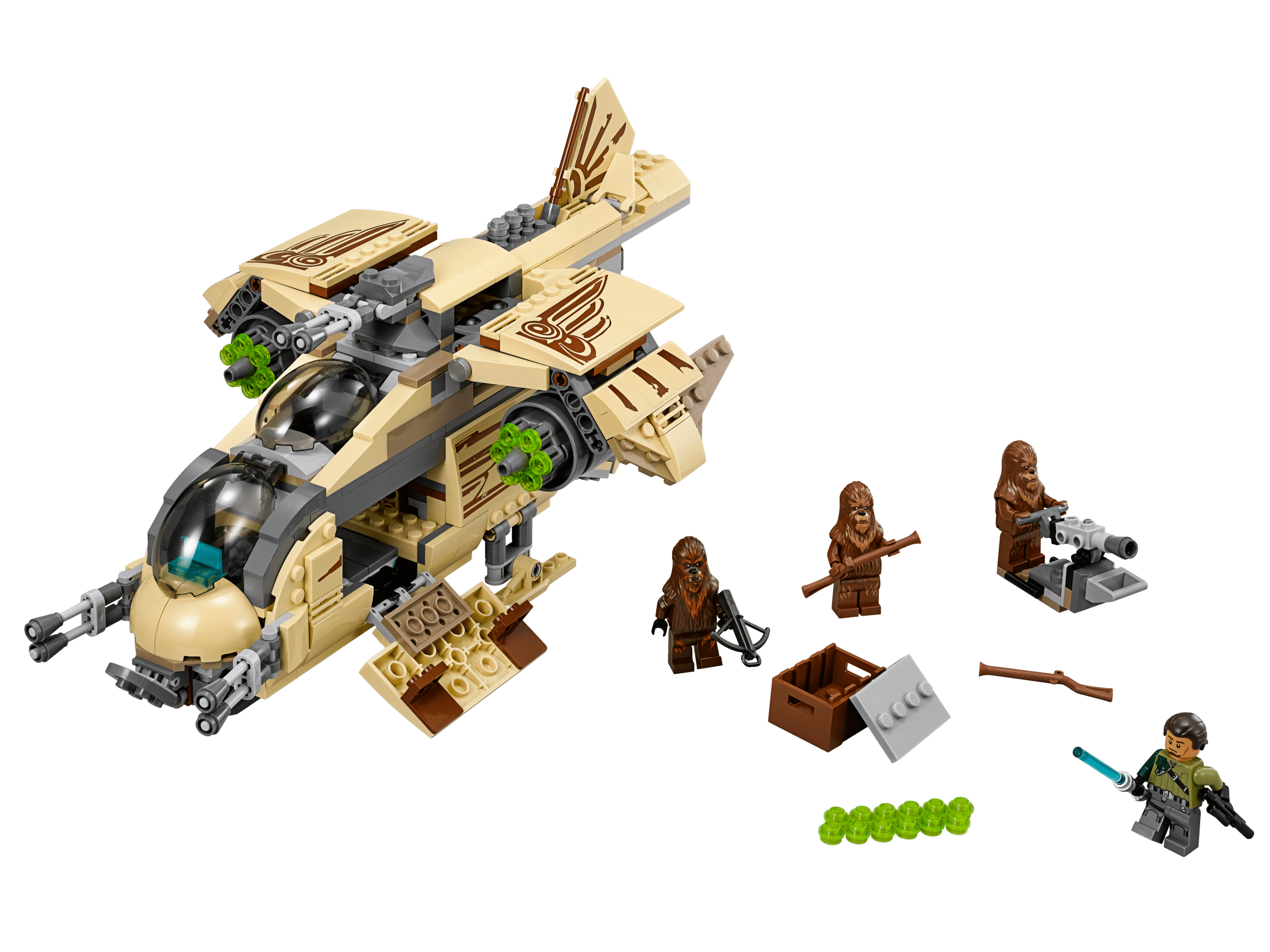 lego star wars 75084 wookiee gunship achat vente assemblage construction cdiscount. Black Bedroom Furniture Sets. Home Design Ideas
