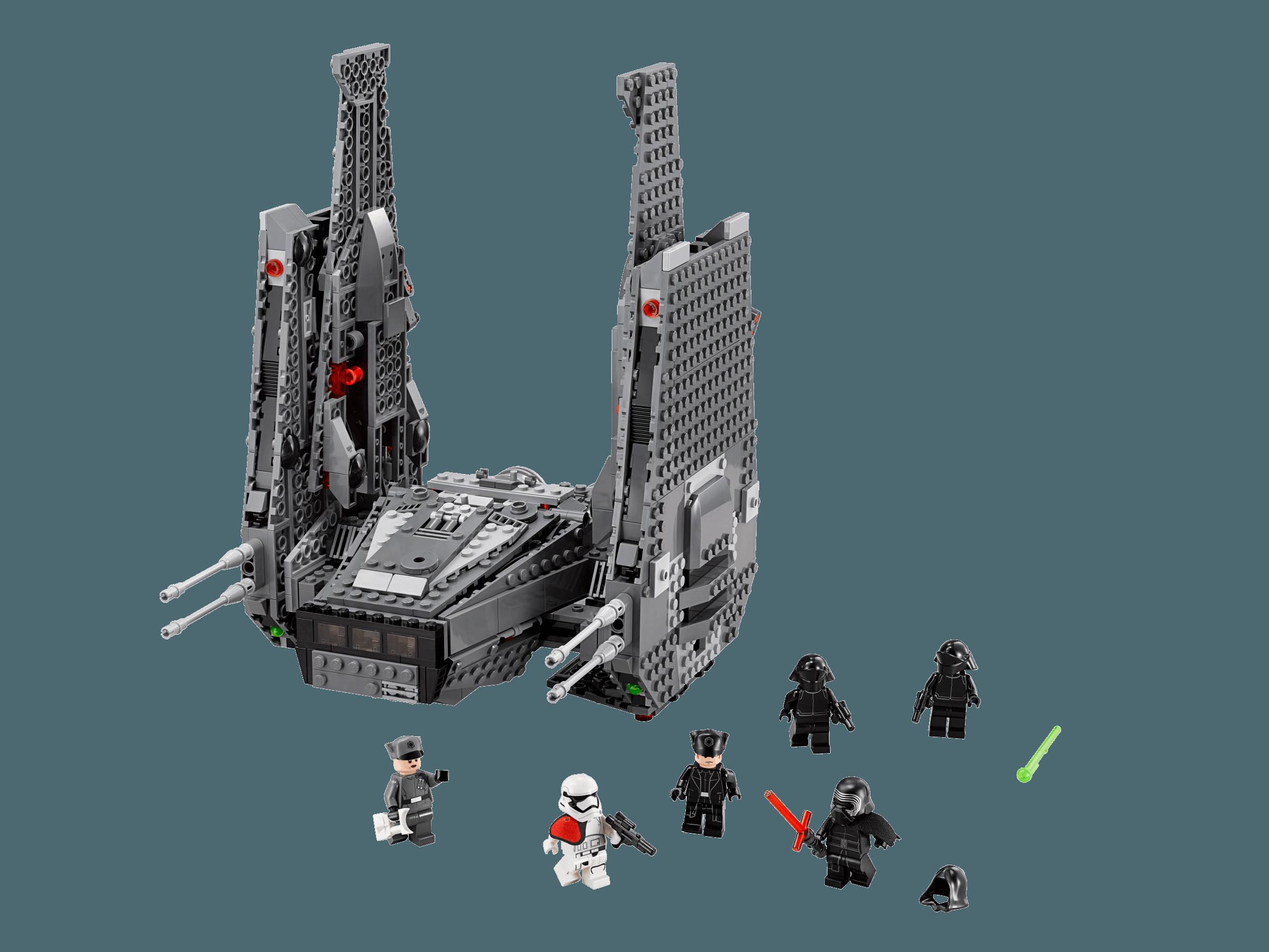 Lego star wars 75104 le vaisseau de kylo ren command - Image star wars vaisseau ...