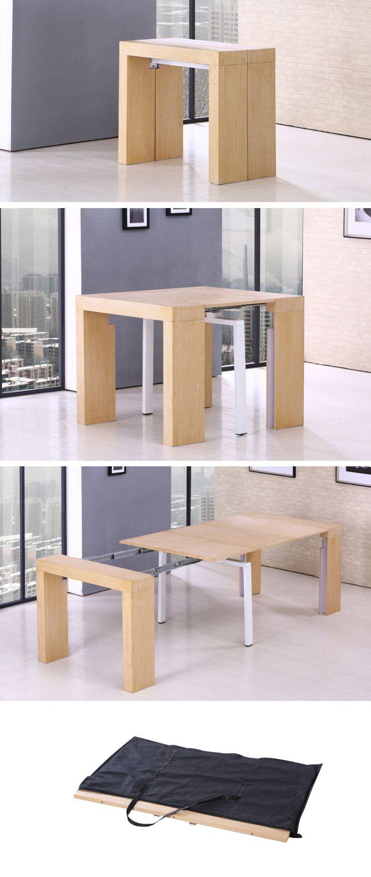 Zack table console extensible 45 250x90cm plaqu e ch ne achat vente conso - Console extensible avis ...