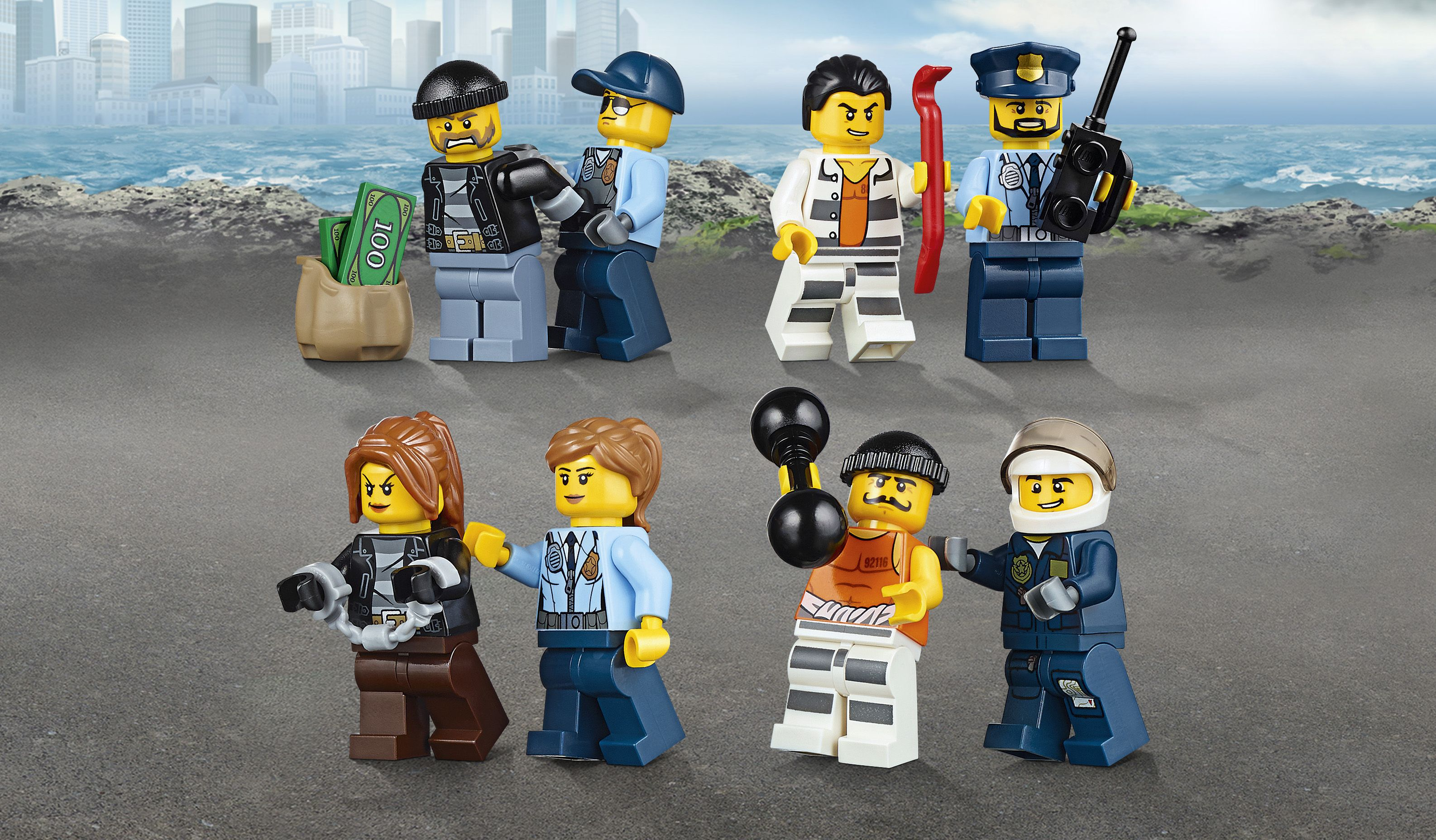 Assemblage Vente Lego® 60130 En Mer Prison Haute Achat La City 6bgy7f