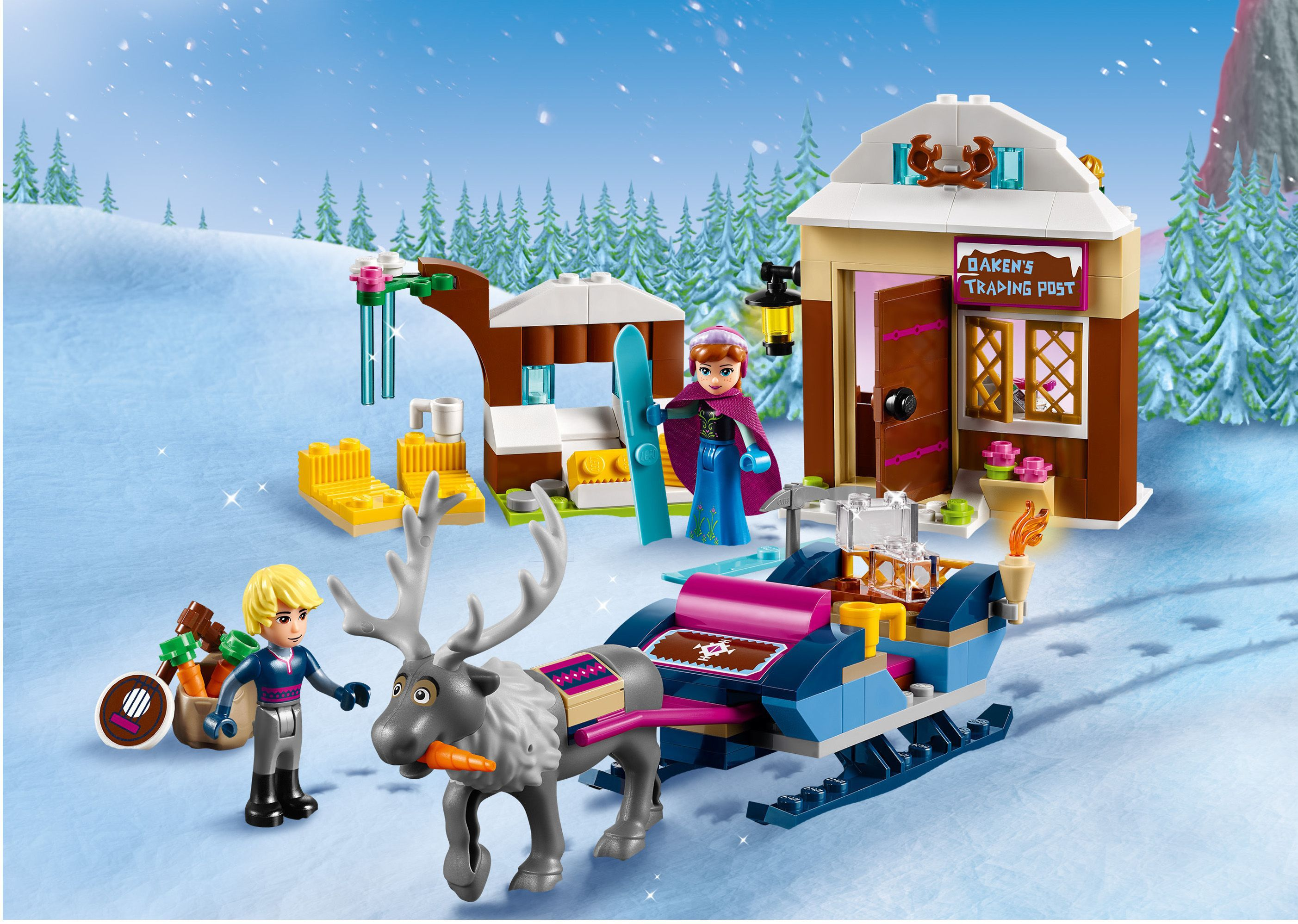 LEGO® Disney Princess La Reine Des Neiges 41066 Le Traîneau D'Anna Et Kristoff