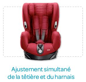 B/éb/é Confort Titan Si/ège Auto pour Enfant Groupe 1//2//3 9 /à 36kg de 9 mois /à 12 ans Nomad Black Evolutif et Inclinable ISOFIX